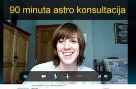 Astro konsultacija u trajanju od 90 minuta